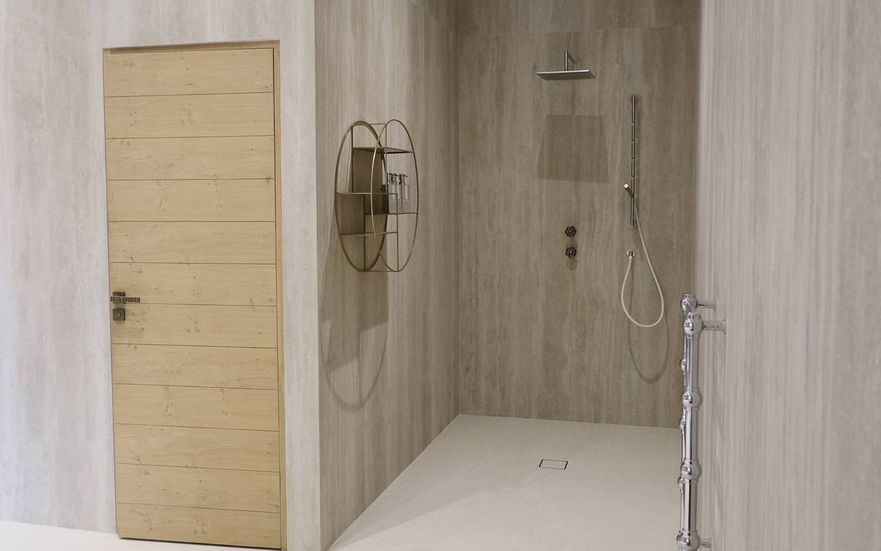 Shower in a luxury spa hotel in Provence