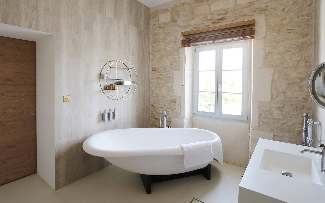 bathroom luxury hotel in Provence France