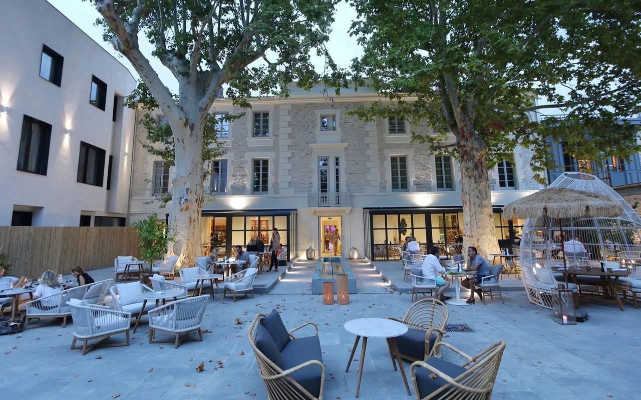 Le Saint Rémy hotel garden
