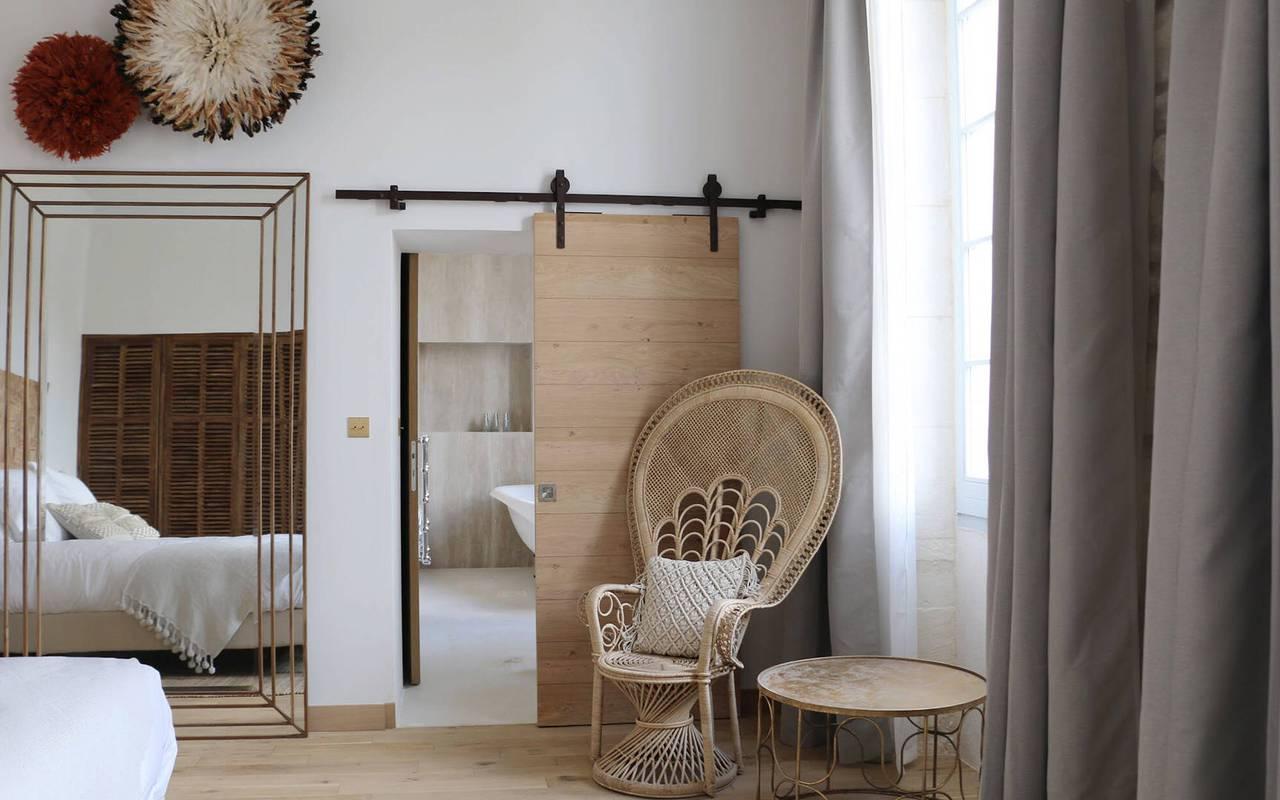 Chambre d'hôtel deluxe en Provence