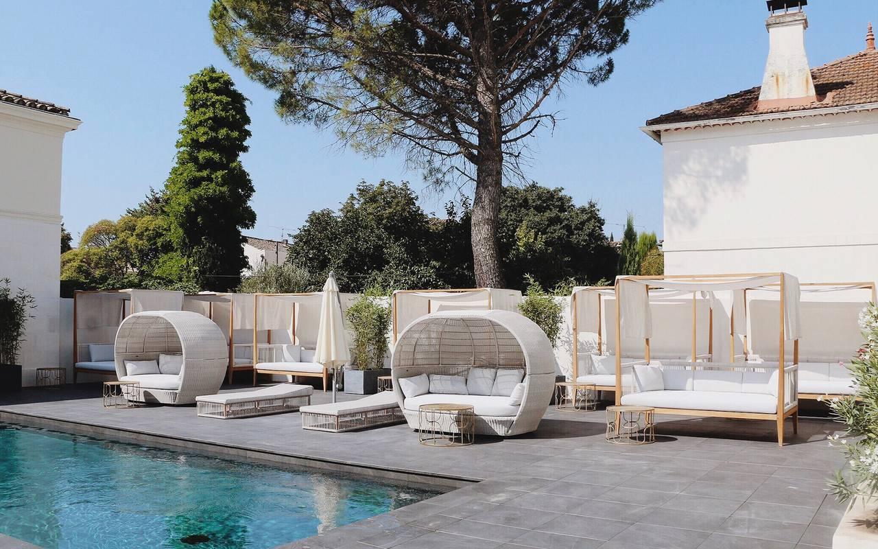 hotel provence piscine