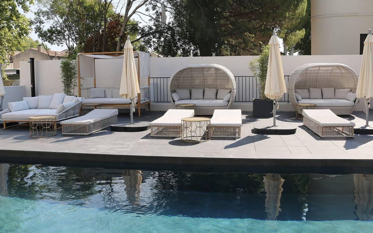 hotel en provence avec piscine