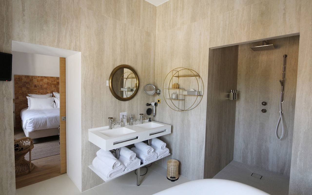 Suite familial d'un hôtel de luxe en Provence