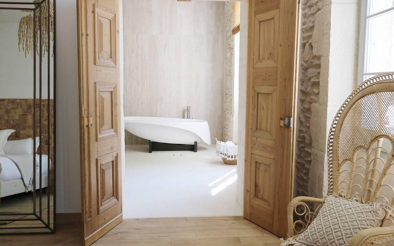 salle de bain hotel à Saint-Rémy-de-Provence